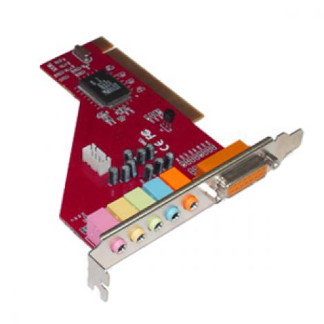 Agiler Sound Card 6Ch PCI AGI-5106