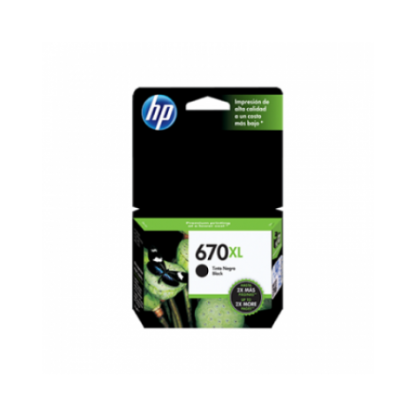 HP 670XL Black INK