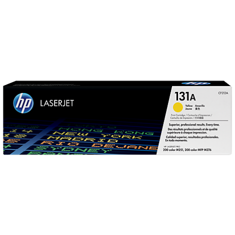 HP CF212A 131A Yellow Toner