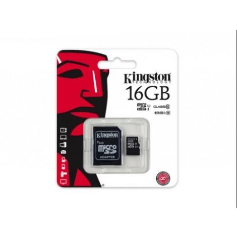 Kingston 16GB Micro SDHC Class 10 SDC10G2/16GB