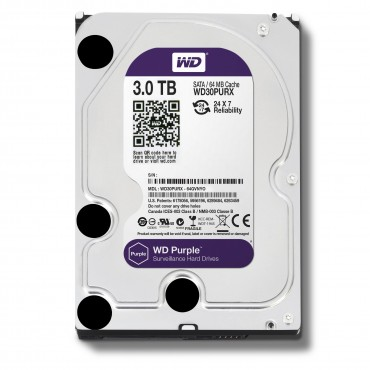Western Digital Purple 3TB Sat