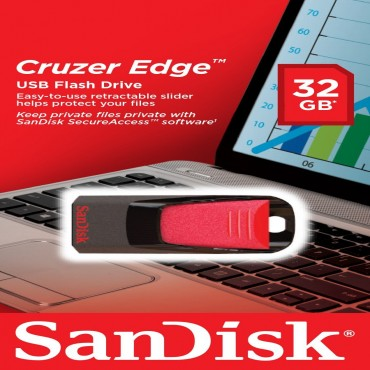 Sandisk 32GB Cruzer Edge Z51 Flash Drive SDCZ51-032G-B35