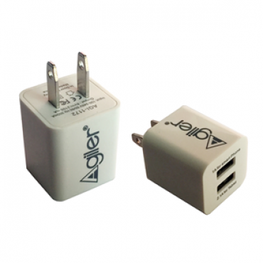 Agiler High Powered Wall Charger Dual USB AGI-1172
