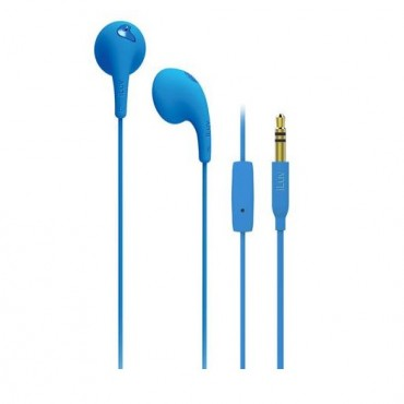 iLuv BBGUMTALKS Blue Ear Bud With MIC