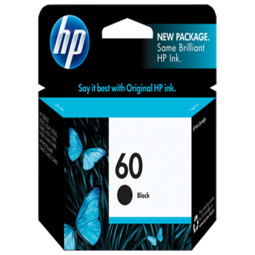 Hp No.60 Black