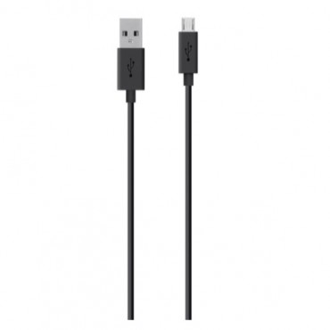 Belkin Micro USB 4ft Cable Back F2CU012BT04-BLK