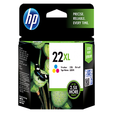 HP 22XL Colour Ink