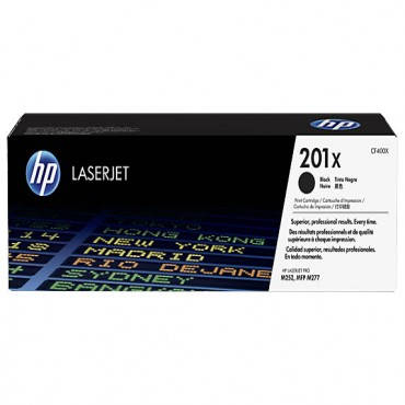 HP 201X Black XL CF400X