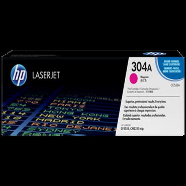 HP 304A Magenta Toner CC533A