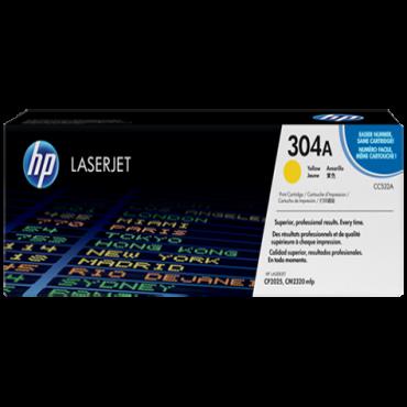 HP 304A Yellow Toner CC532A