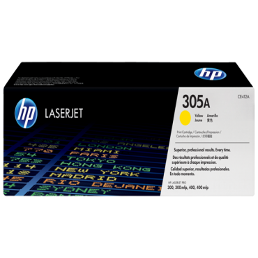 HP 305A CE412A YELLOW TONER