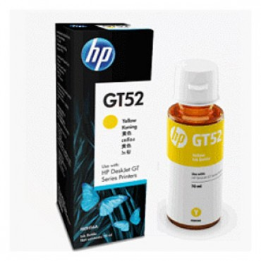 HP GT52 Yellow Ink