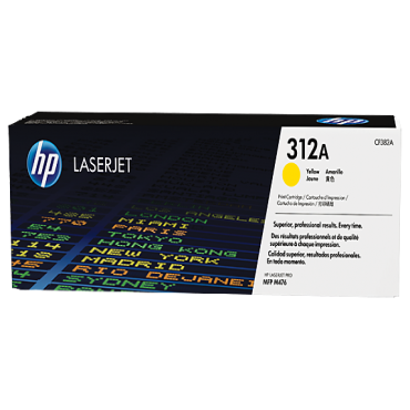 Hp Laser Jet Toner Yellow 312A