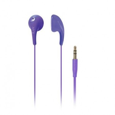 iLuv iEP205 Bubble Gum 2 Earphones Purple