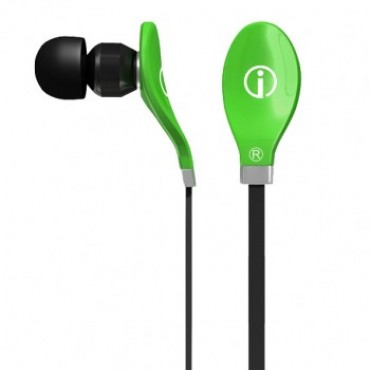 IME-22641 IMEXX Earphone Rythmz Flat Cable Design Green