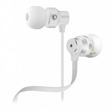 Klip Headphones With Mic KHS-215WH