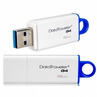 Kingston 16GB USB 3.0 Data Traveler DTIG4/16G Blue