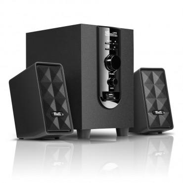 KLIPX 2.1 Speaker KES-345 20W USB/SD