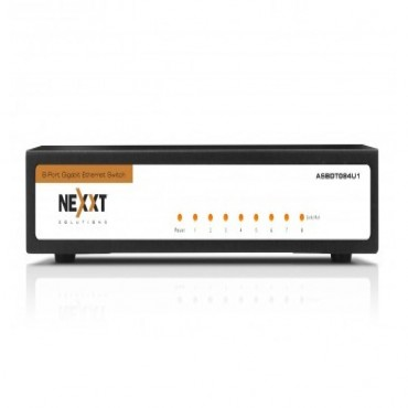 NEXXT 8 Port Axis Gigabit Switch