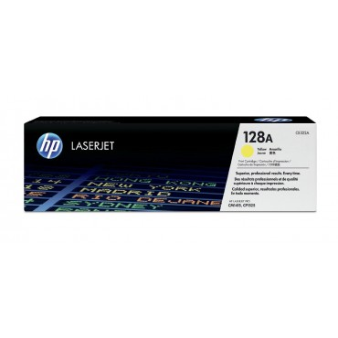 HP 128A Yellow CE322A