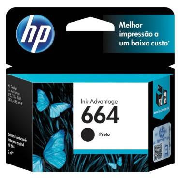 HP 664 Black Ink
