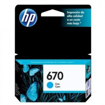 HP 670 CYAN