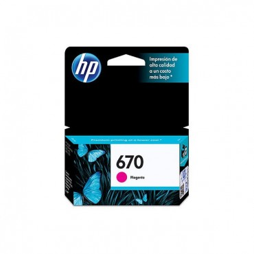 HP 670 MAGENTA